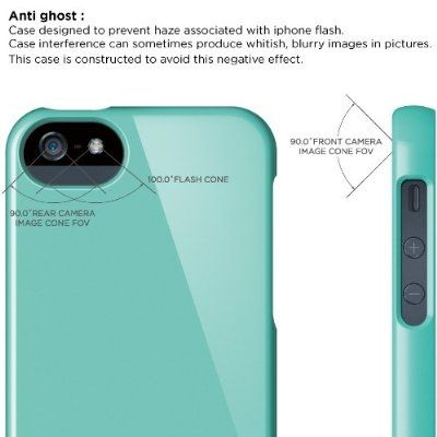 Калъф Elago S5 Glide за iPhone 5, Iphone 5s - светлосин - 7