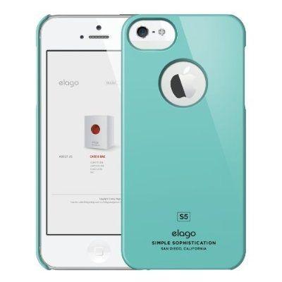 Elago S5 Slim Fit Case за iPhone 5 -  светлосин - 6