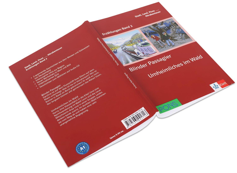 Erzählungen Band 2: Blinder Passagier & Unheimliches im Wald - ниво А1 (Адаптирано издание: Немски) - 2