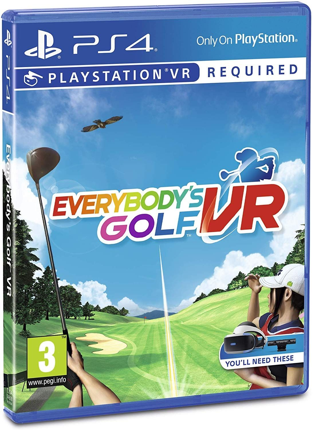 Everybody's Golf VR (PS4 VR) - 3