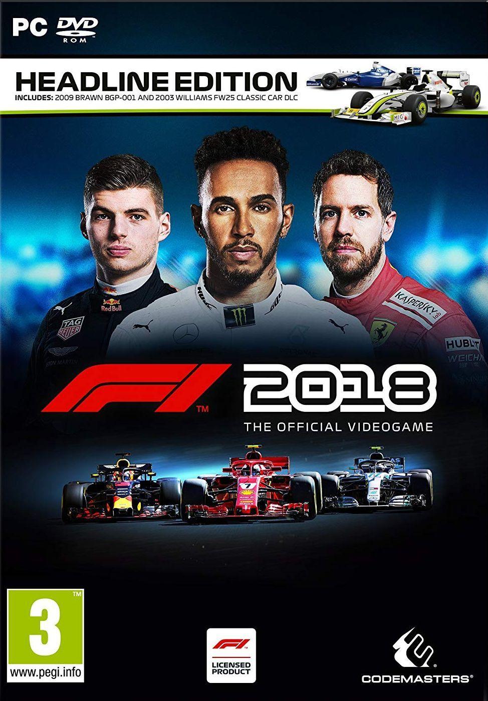 F1 2018 Headline Edition (PC) - 1