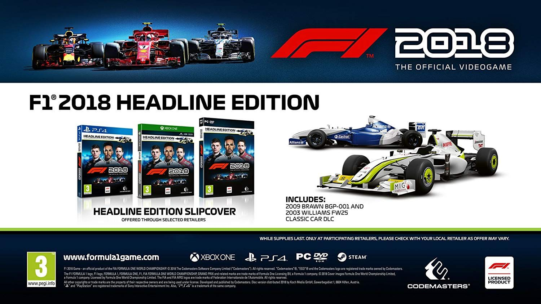 F1 2018 Headline Edition (Xbox One) - 3