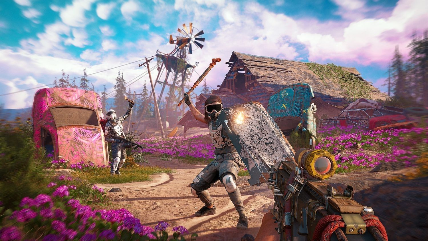 Far Cry New Dawn Superbloom Deluxe Edition (PS4) - 6