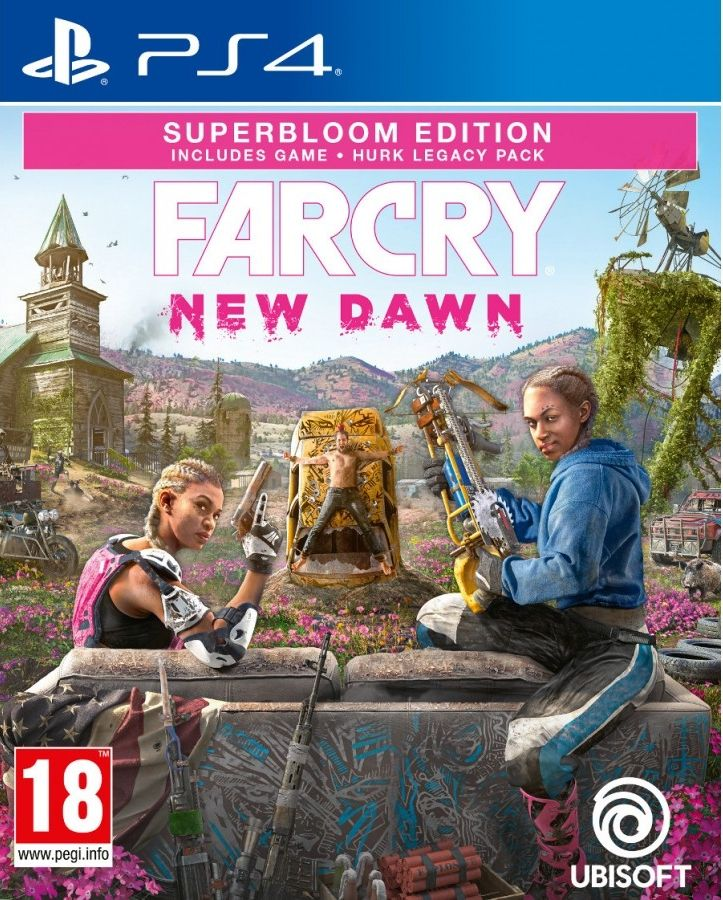Far Cry New Dawn Superbloom Deluxe Edition (PS4) - 1