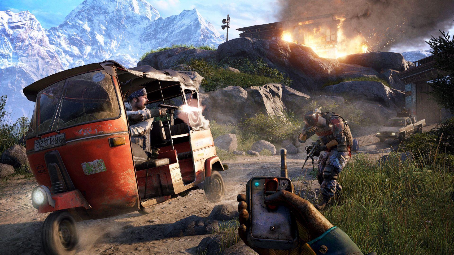 Far Cry 4 + Far Cry 5 (PS4) - 4