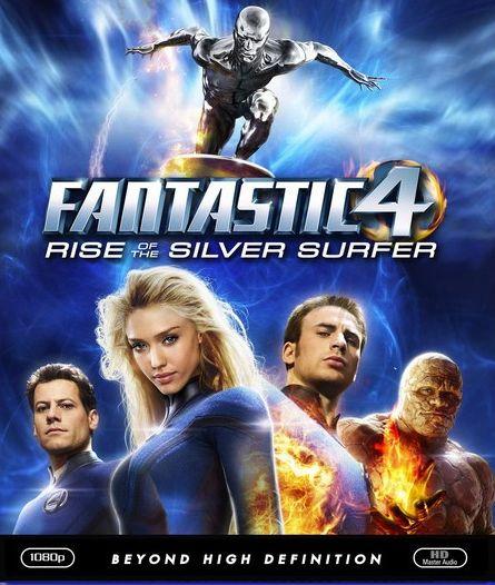 Фантастичната четворка и Сребърния сърфист (Blu-Ray) - 1