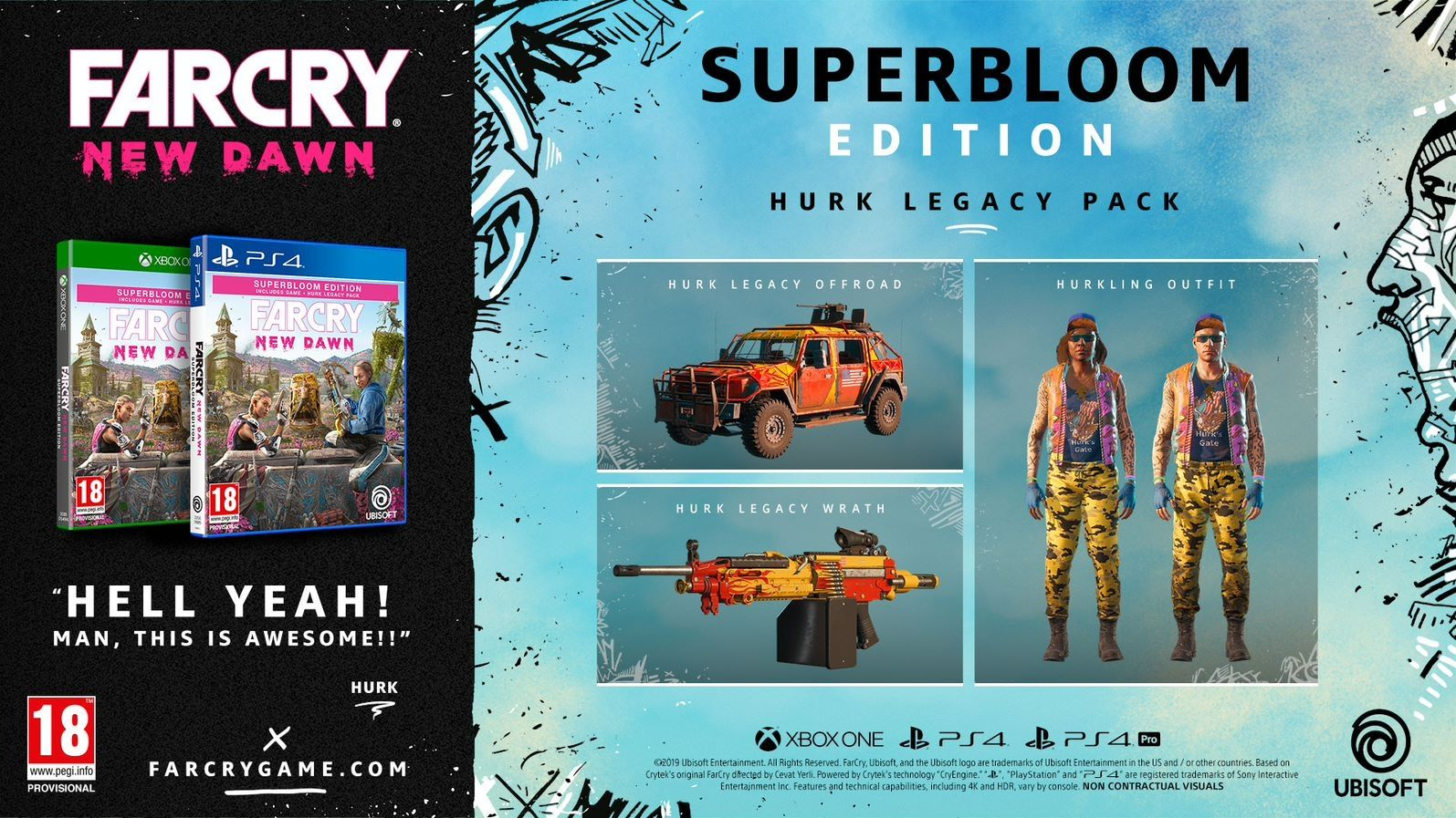 Far Cry New Dawn Superbloom Deluxe Edition (PS4) - 5