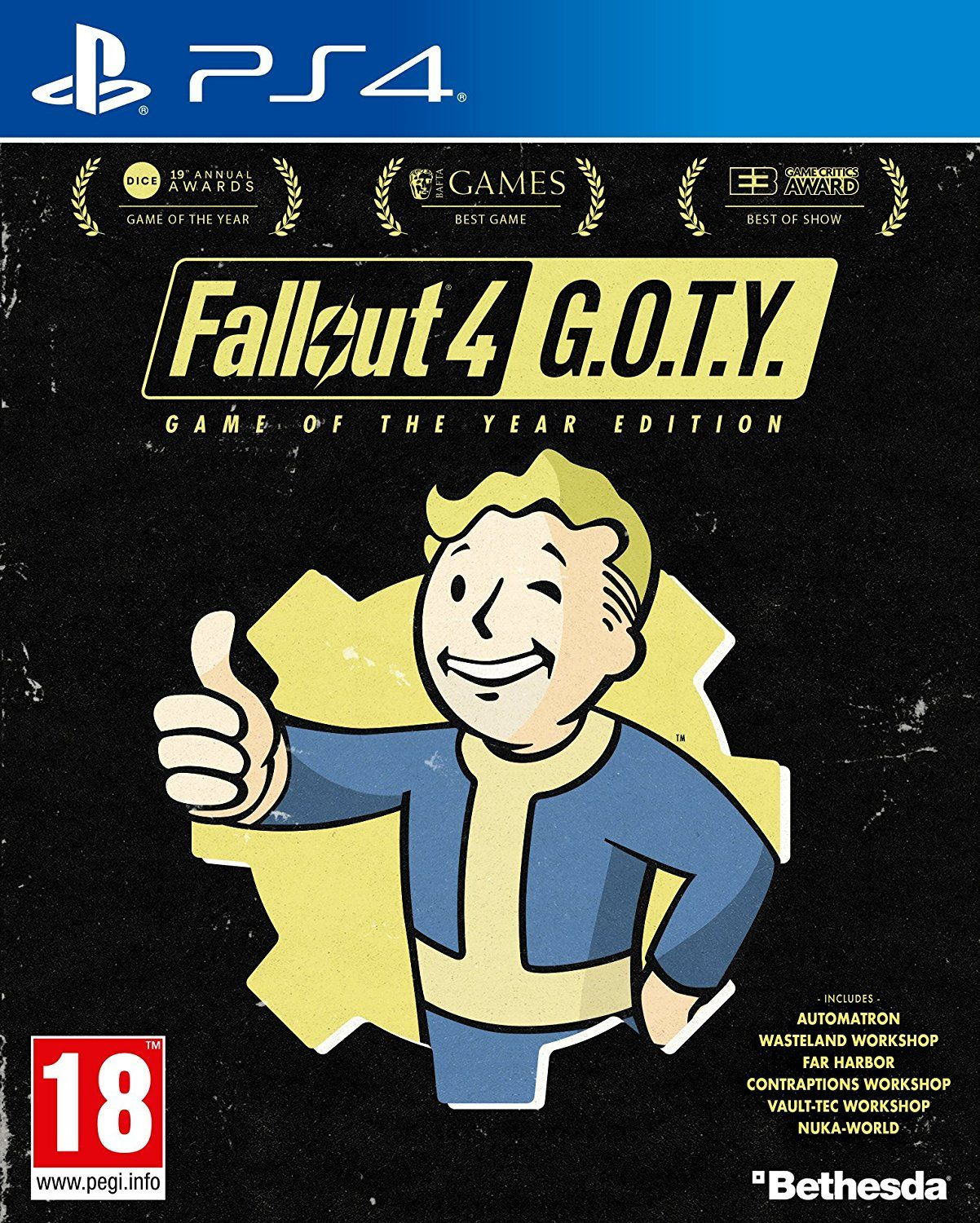 Fallout 4 Game of the Year Edition (PS4) - 1