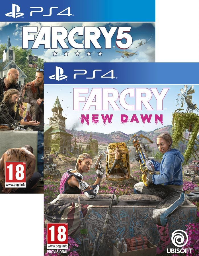 Far Cry New Dawn + Far Cry 5 (PS4) - 1