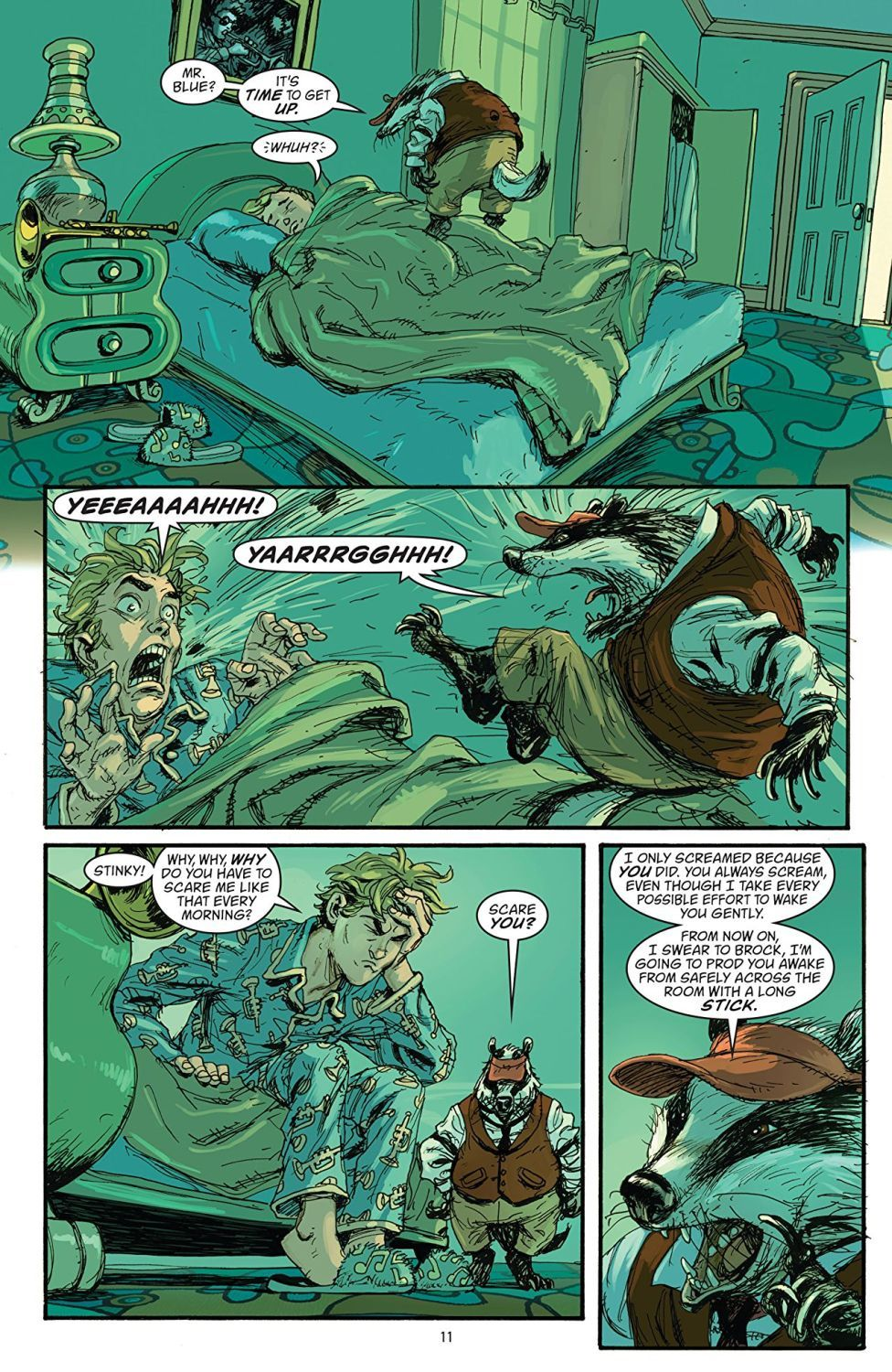 Fables Vol. 11: War and Pieces (комикс) - 3