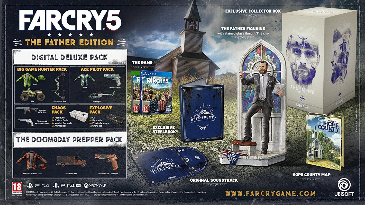Far Cry 5 Father Collector's Edition (PS4) - 10