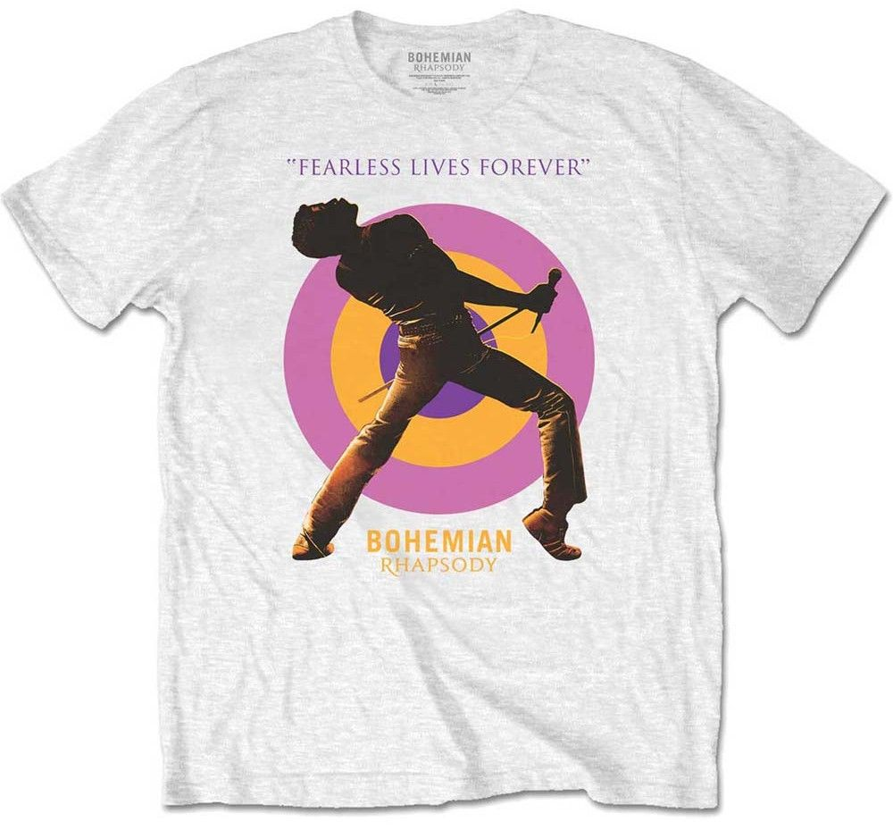 Тениска Rock Off Queen - Fearless - 1