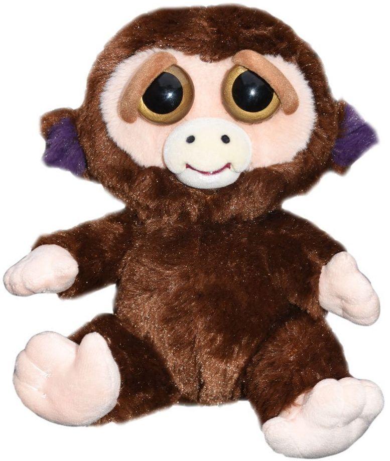 Плашеща плюшена играчка WMC Toys Feisty Pets - Маймуна - 1