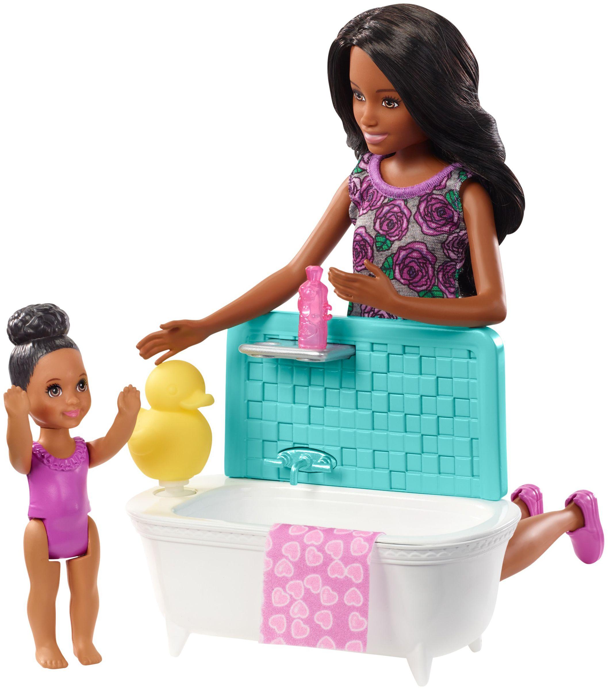 Игрален комплект Mattel Barbie - Детегледачка, асортимент - 5