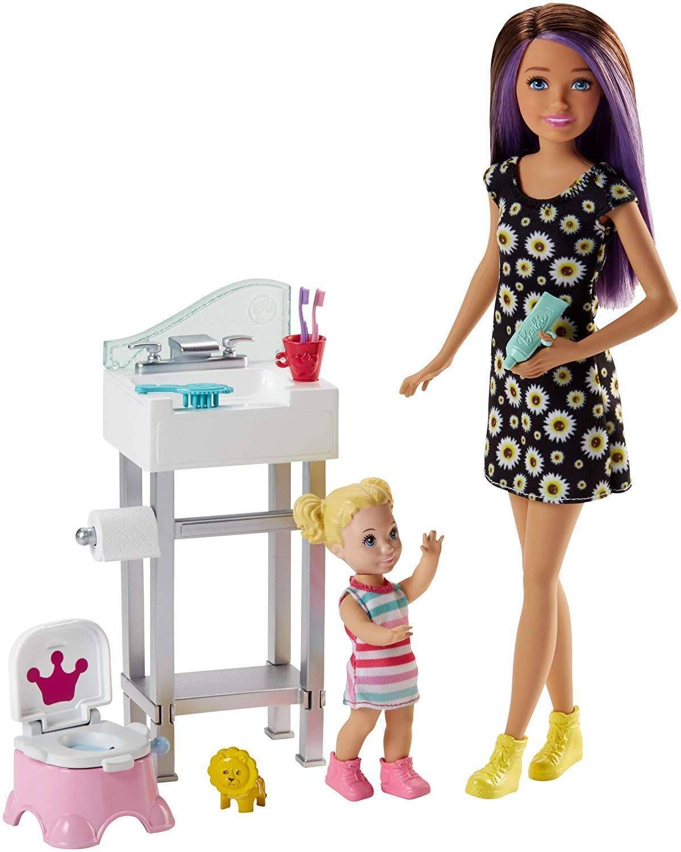 Игрален комплект Mattel Barbie - Детегледачка, асортимент - 3