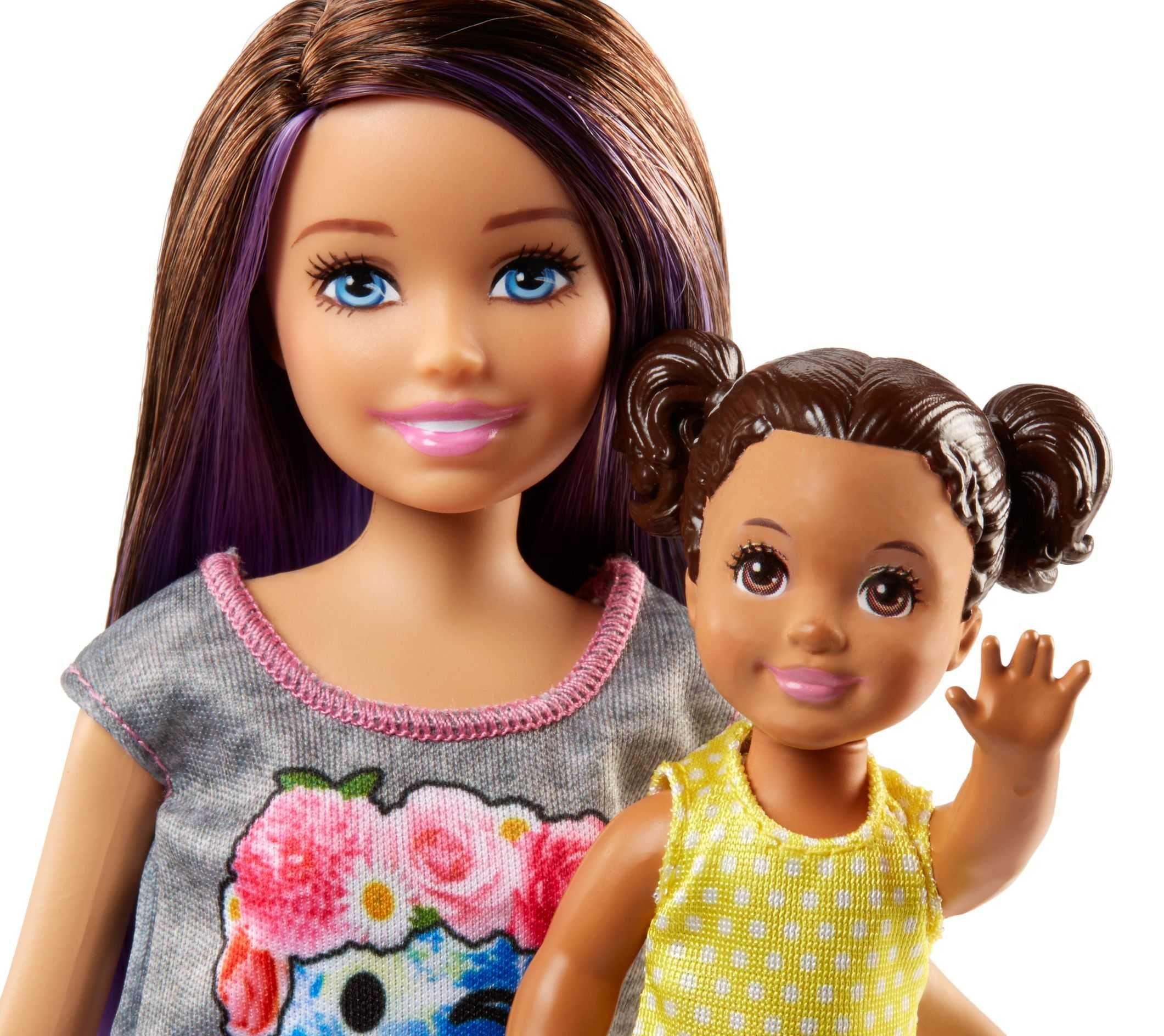 Игрален комплект Mattel Barbie - Детегледачка, асортимент - 8