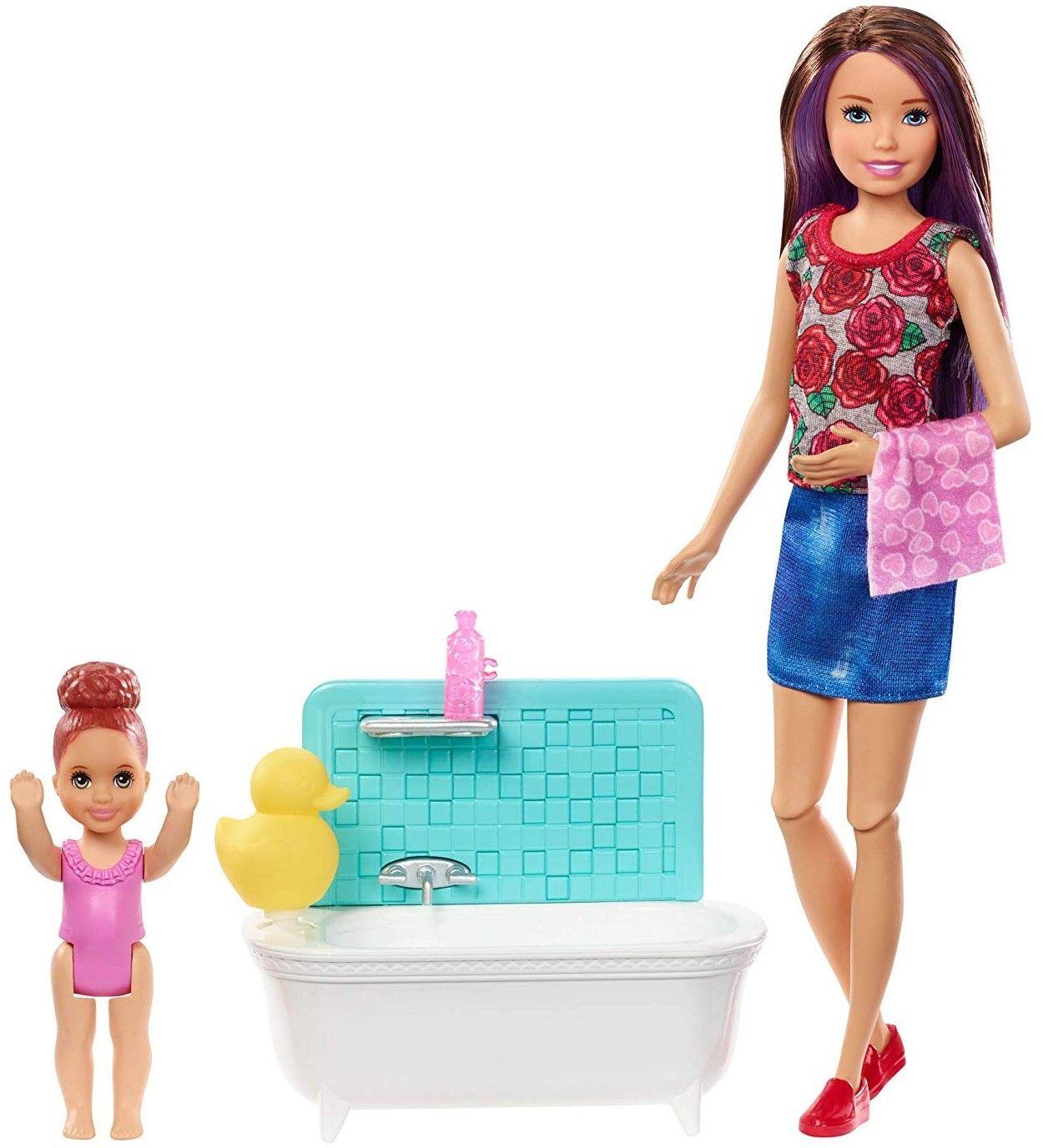 Игрален комплект Mattel Barbie - Детегледачка, асортимент - 2