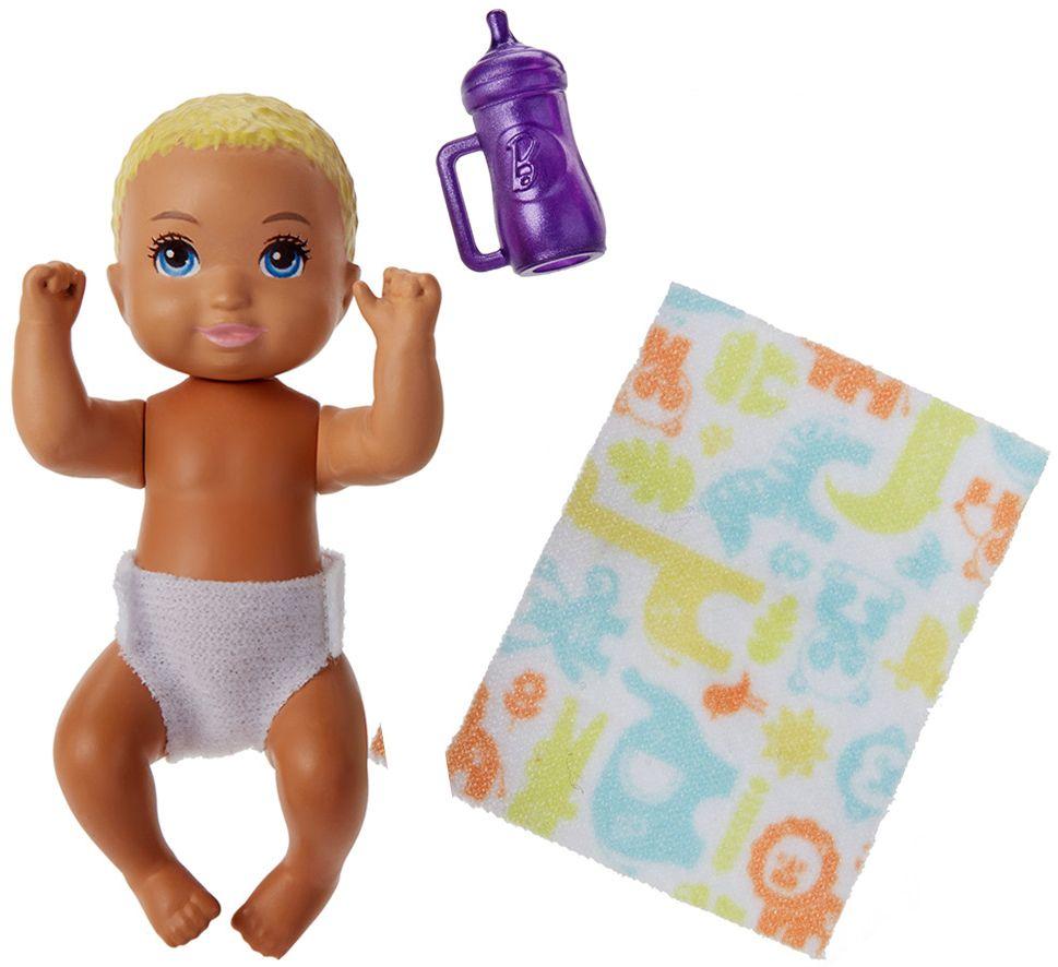 Кукла-бебе Barbie - С шише и одеялце, асортимент - 2