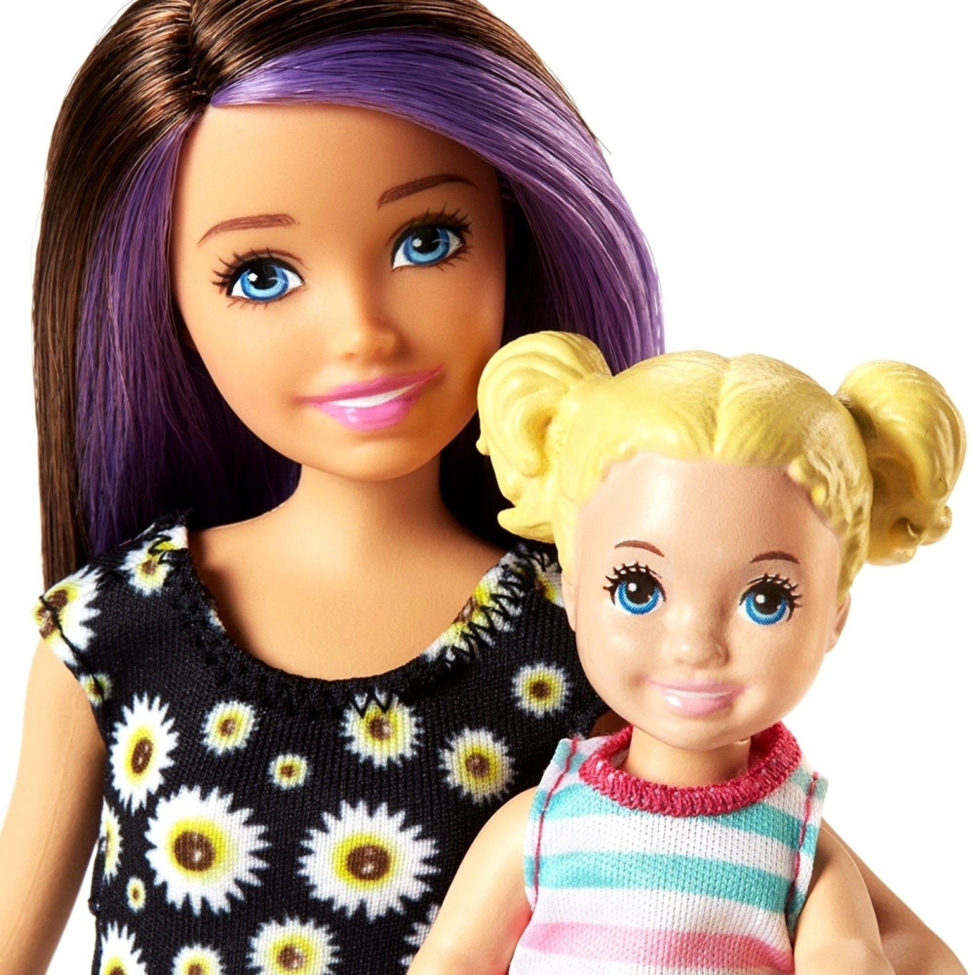 Игрален комплект Mattel Barbie - Детегледачка, асортимент - 9