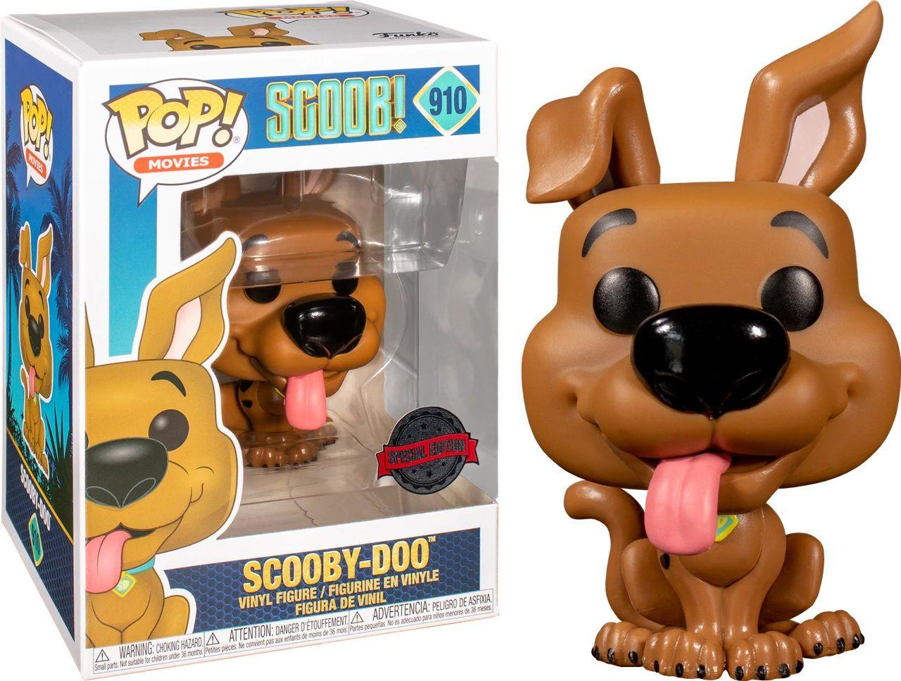 Фигура Funko Pop! Movies: Scoob! - Scooby-Doo (Special Edition) #910 - 2