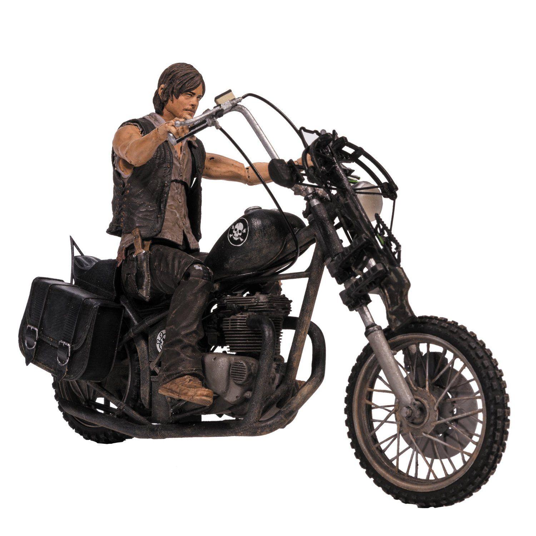 Фигура The Walking Dead - Daryl Dixon with Chopper  - 1