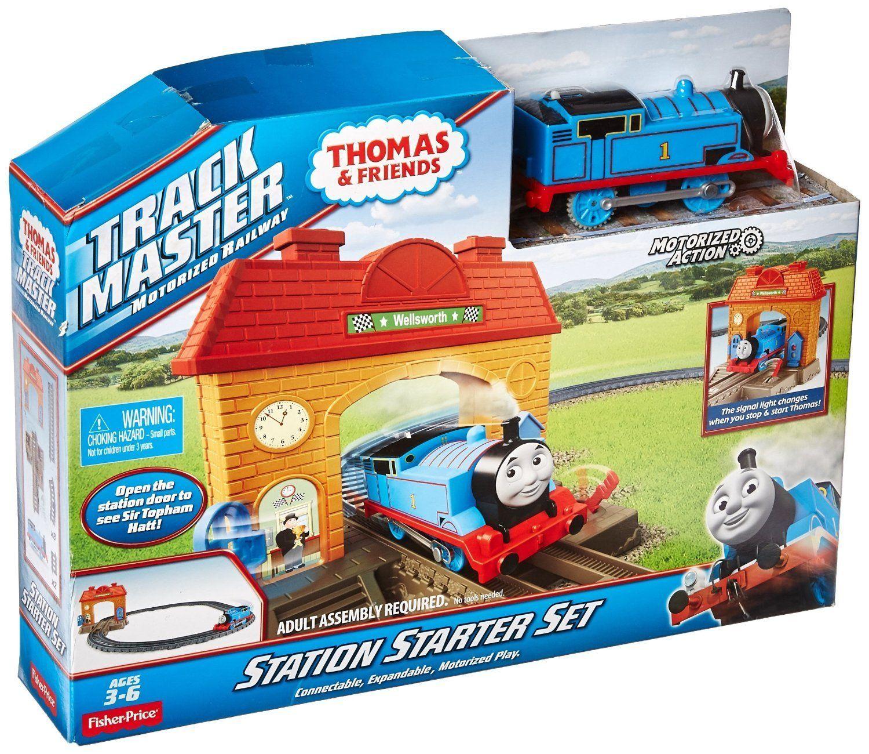 Комплект за игра Fisher Price Thomas & Friends - Трасе, гара и моторизирано влакче - 6
