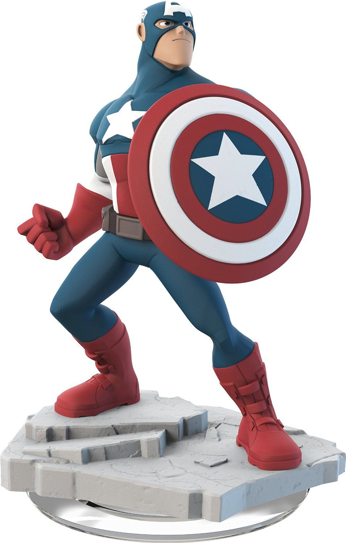Фигура Disney Infinity 2.0 Captain America - 1