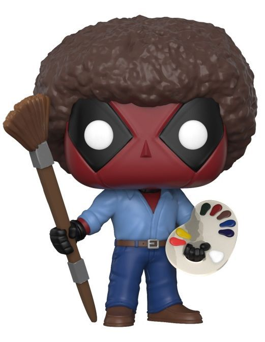 Фигура Funko Pop! Marvel: Deadpool Bob Ross, #319 - 1