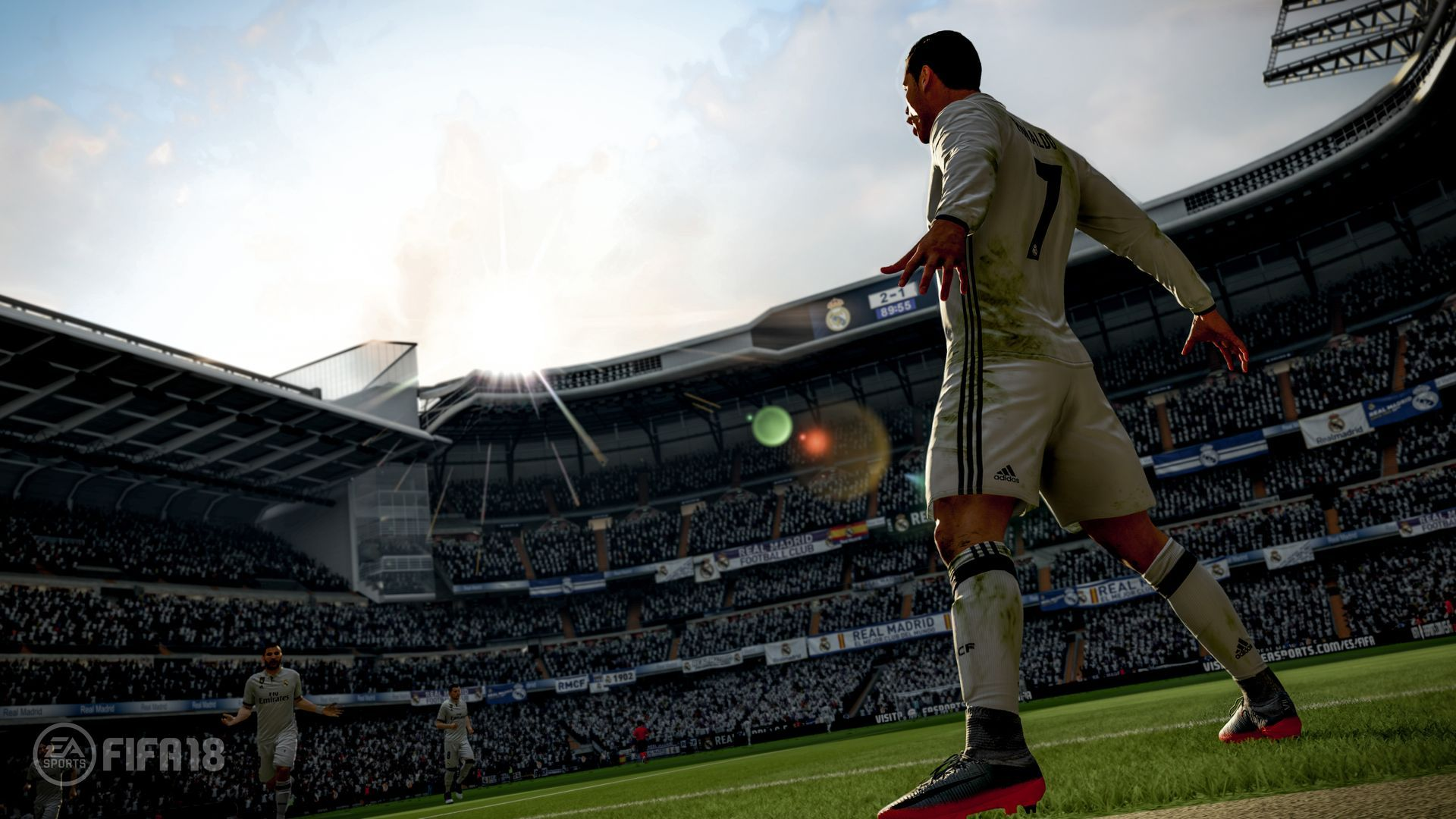FIFA 18 (PS4) + подарък метална кутия - 4