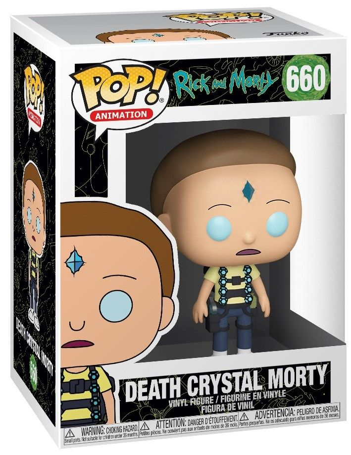 Фигура Funko Pop! Animation: Rick & Morty - Death Crystal Morty, #660 - 2