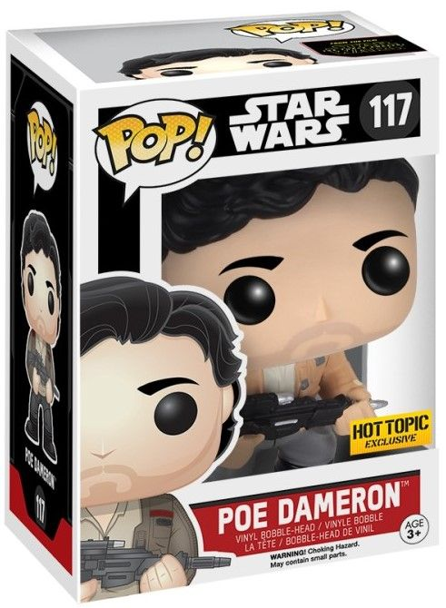 Фигура Funko Pop! Star Wars: The Force Awakens - Poe Dameron Resistance Limited, #117 - 2