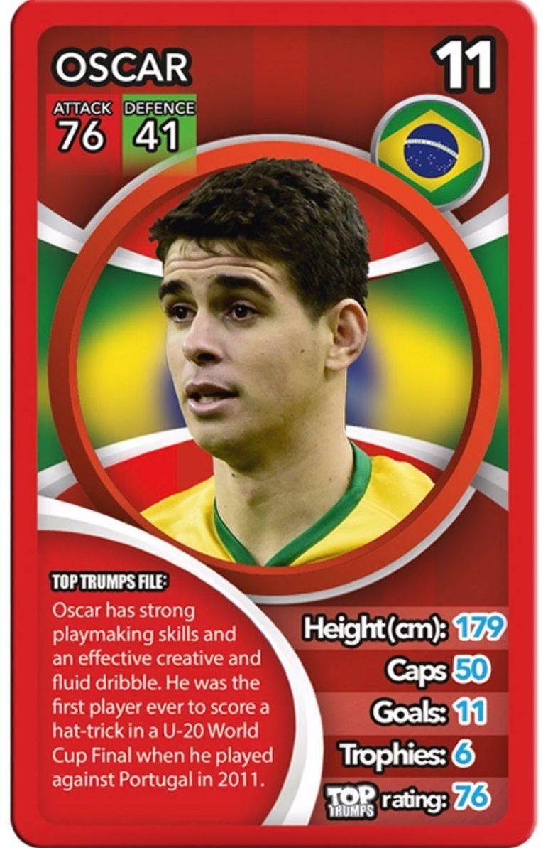Игра с карти Top Trumps - World Football Stars - 3