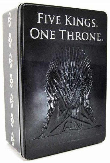 Метална кутия Half Moon Bay - Game of Thrones: Five Kings. One Throne - 1