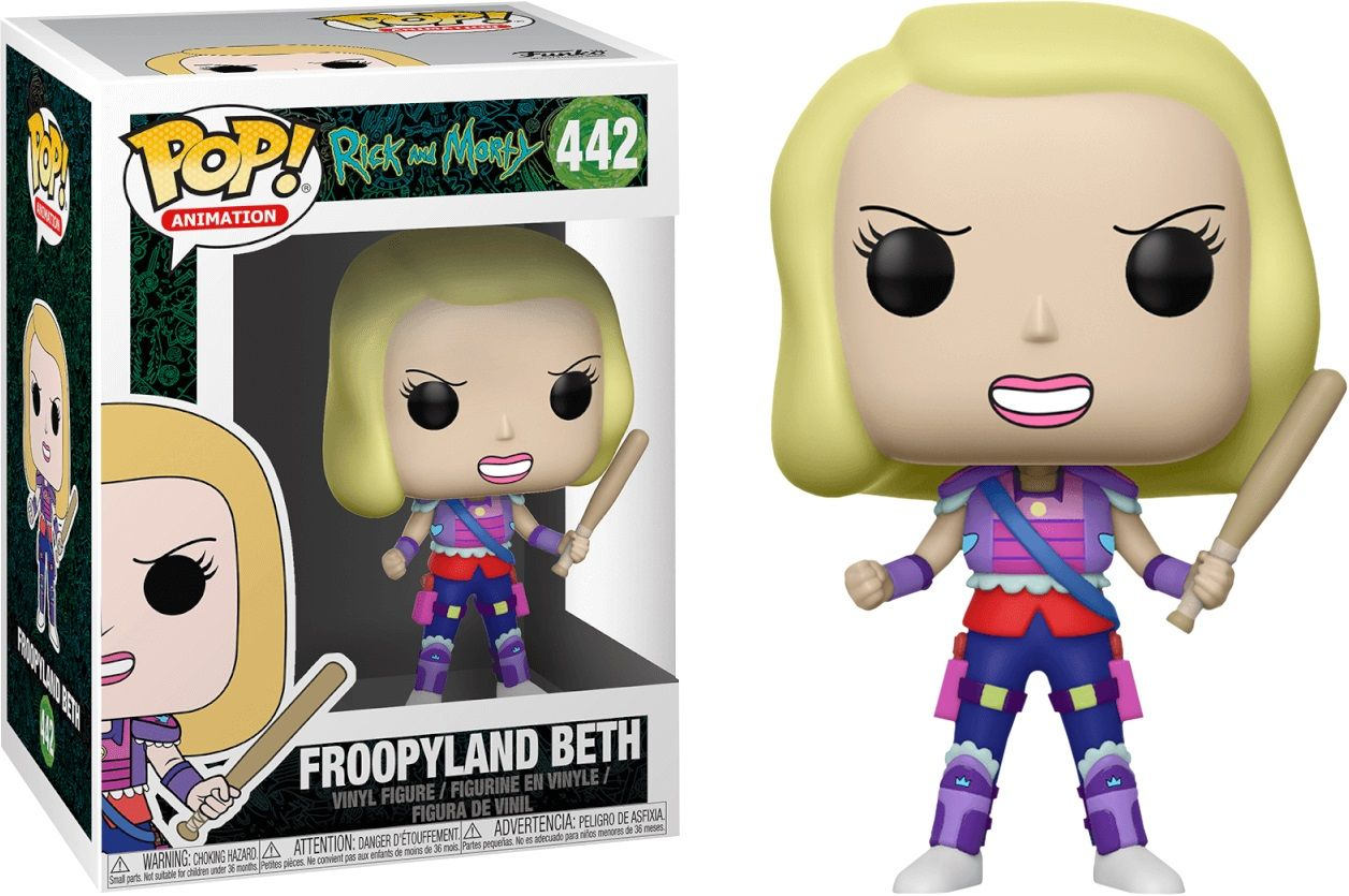 Фигура Funko Pop! Animation: Rick and Morty - Froopyland Beth, #442 - 2