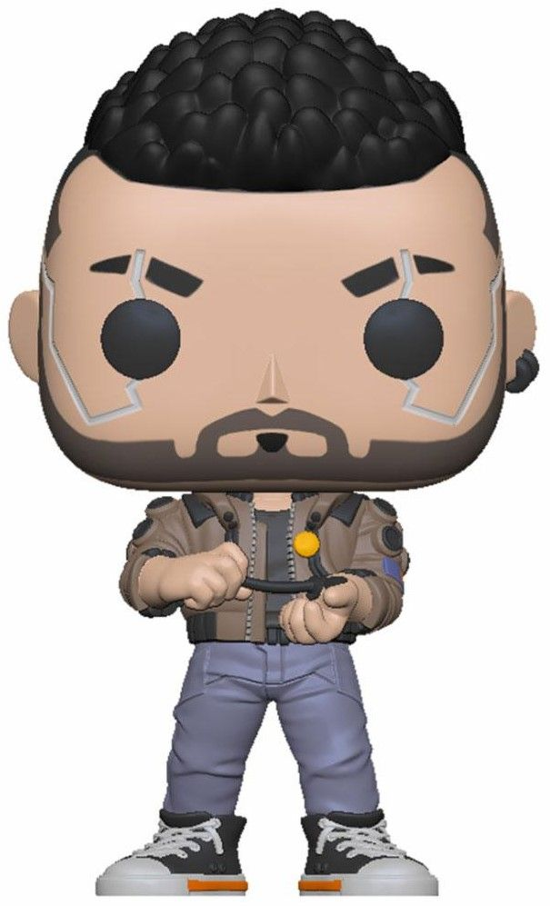 Фигура Funko Pop! Games: Cyberpunk 2077 - V-Male - 1