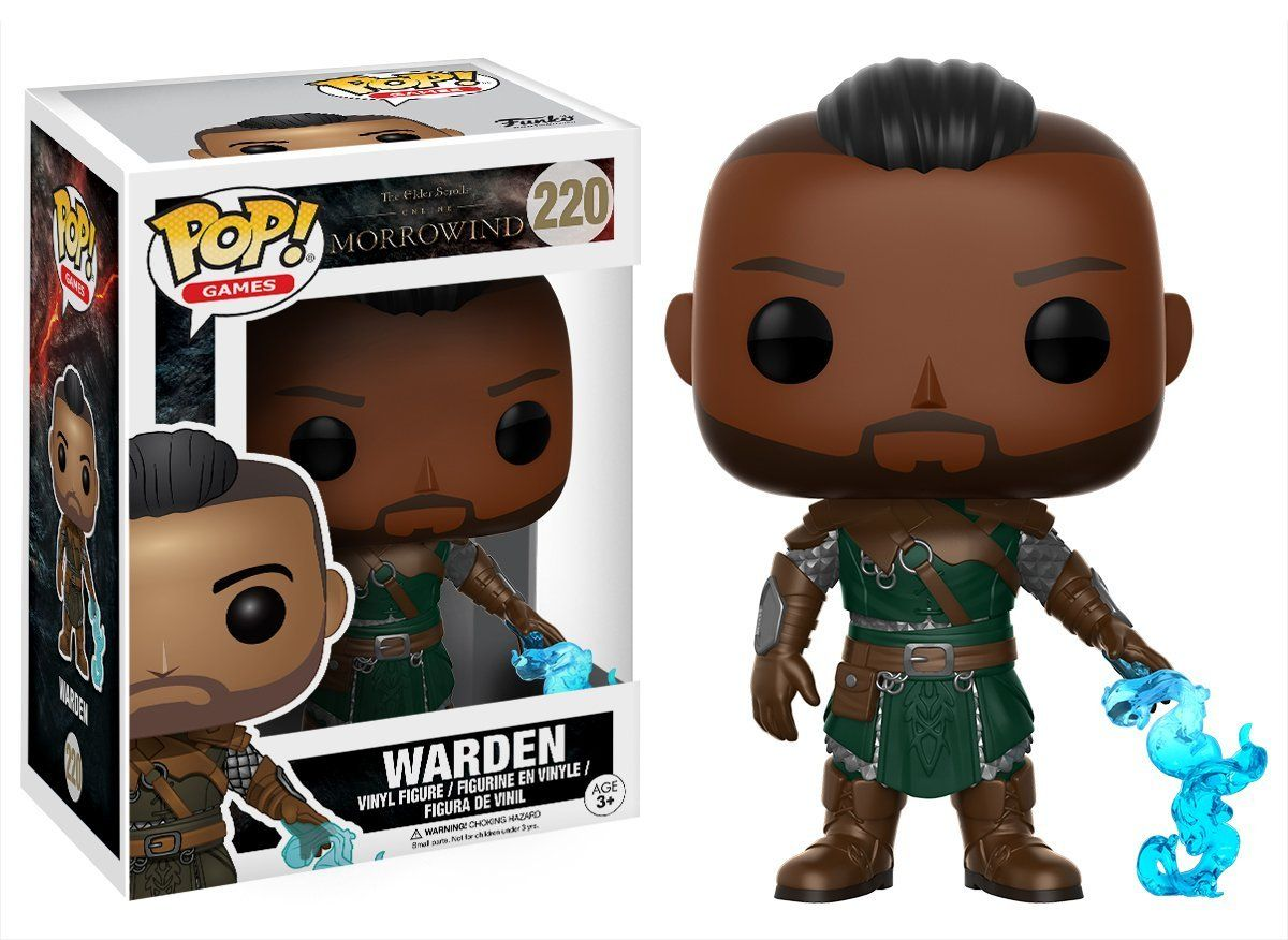 Фигура Funko Pop! Games: The Elder Scrolls - Morrowind - Warden, #220 - 2