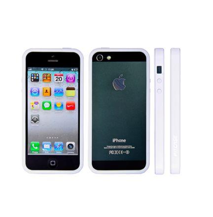FitCase Bumper BPCIP5-05за iPhone 5 -  бял - 1