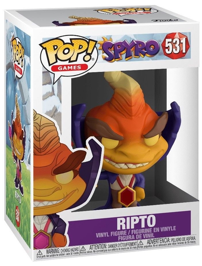 Фигура Funko Pop! Games: Spyro - Ripto, #531 - 2
