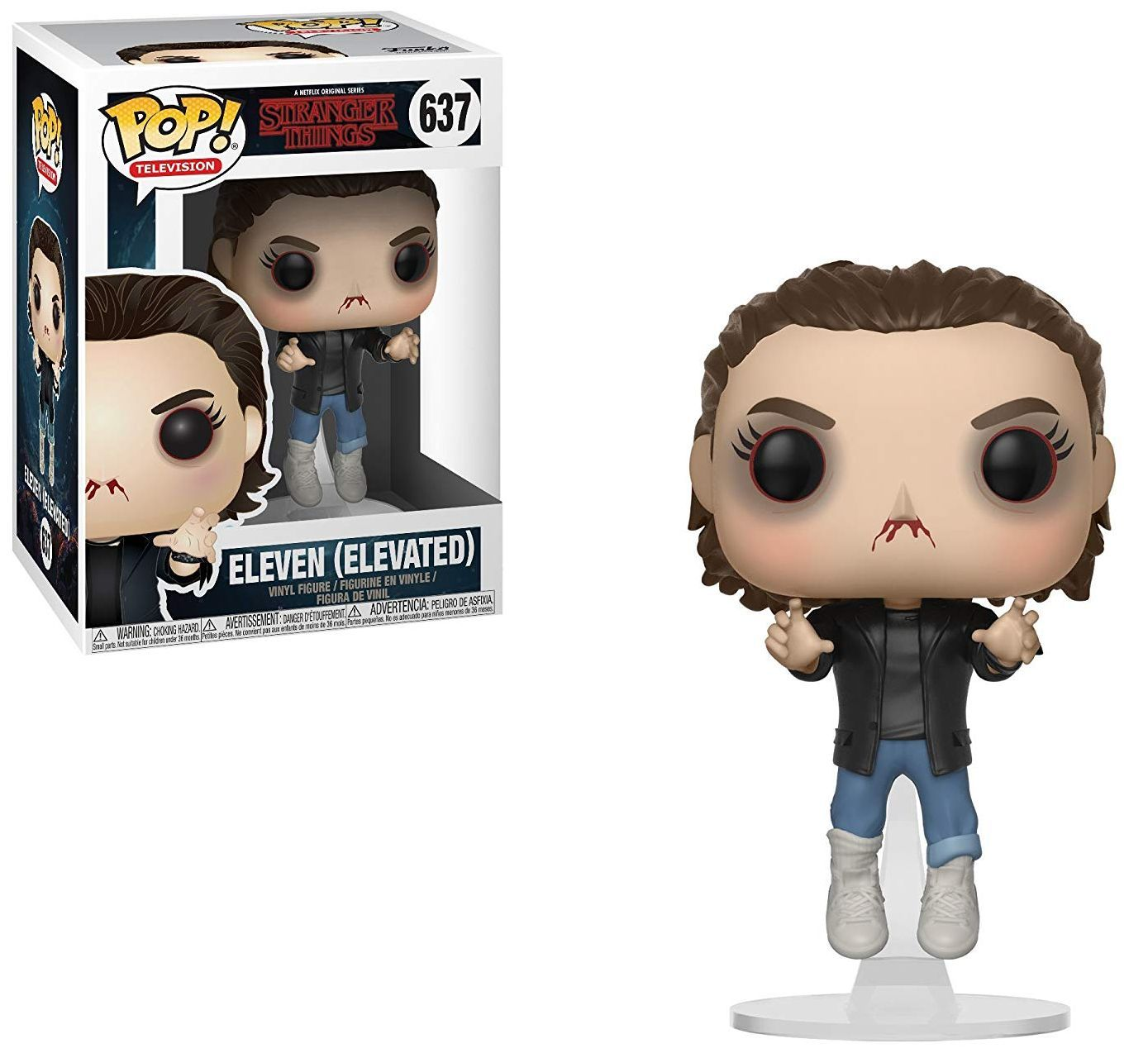 Фигура Funko Pop! Television: Stranger Things - Eleven Elevated, #637 - 2