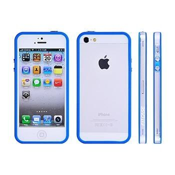 FitCase Bumper BPC-02 за iPhone 5 -  син - 1
