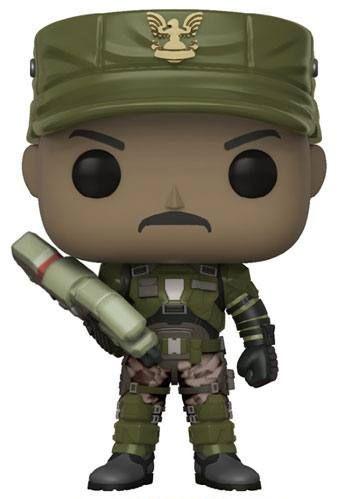 Фигура Funko Pop! Games: Halo - Sgt. Johnson, #08 - 1