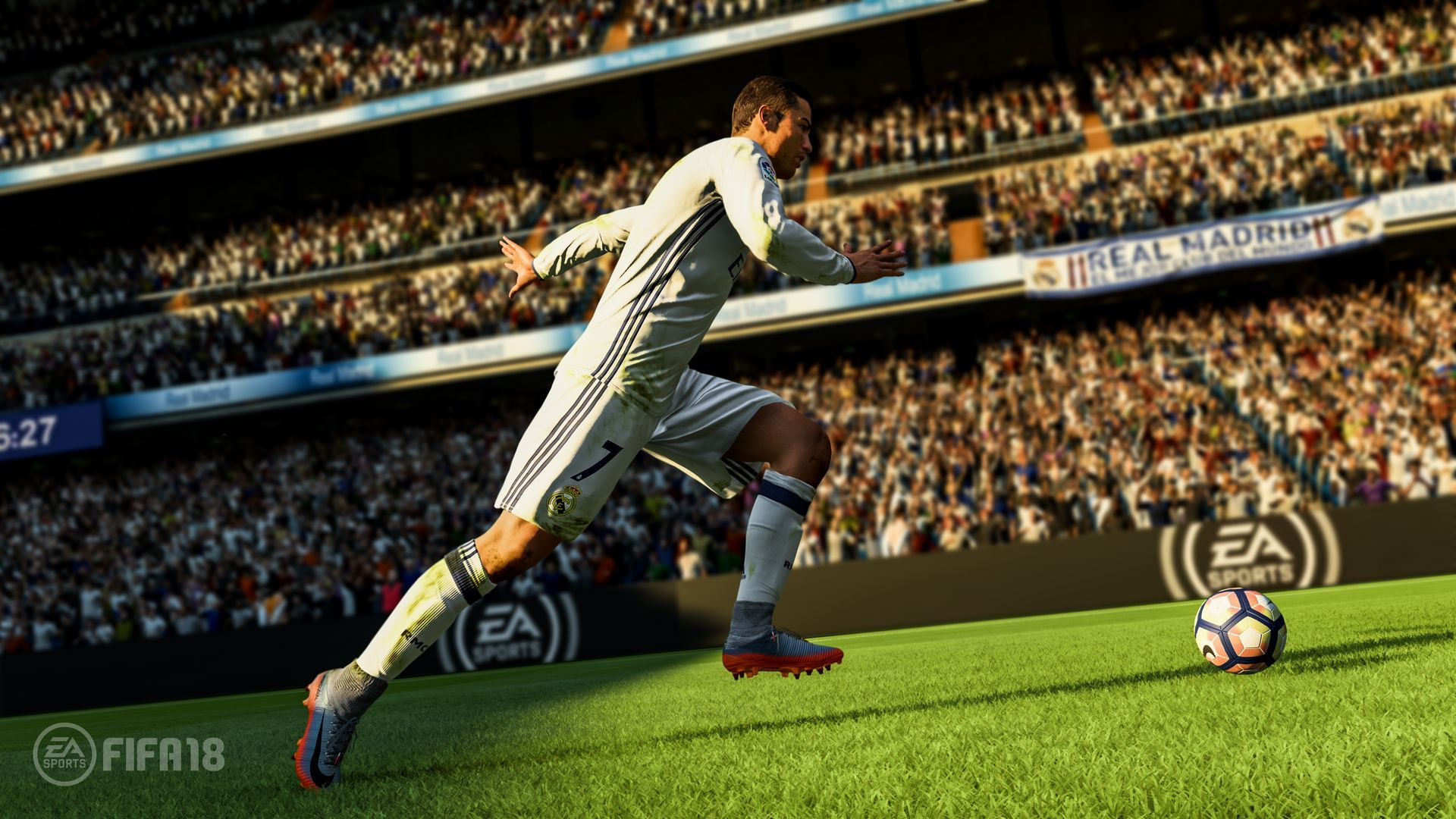 FIFA 18 (PS4) + подарък метална кутия - 3