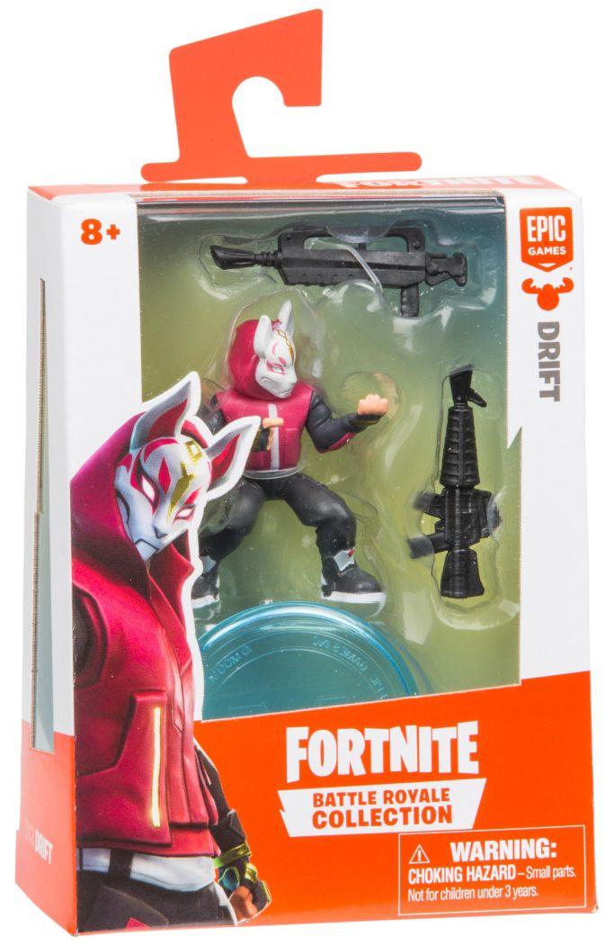 Фигурка Moose Fortnite Battle Royale -  Drift, с 2 оръжия - 1