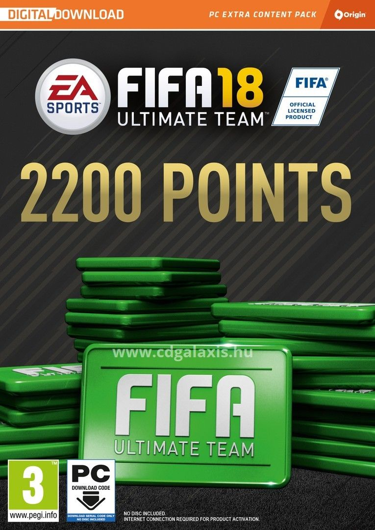 FIFA 17/18 2200 FIFA Points (PC) - 1