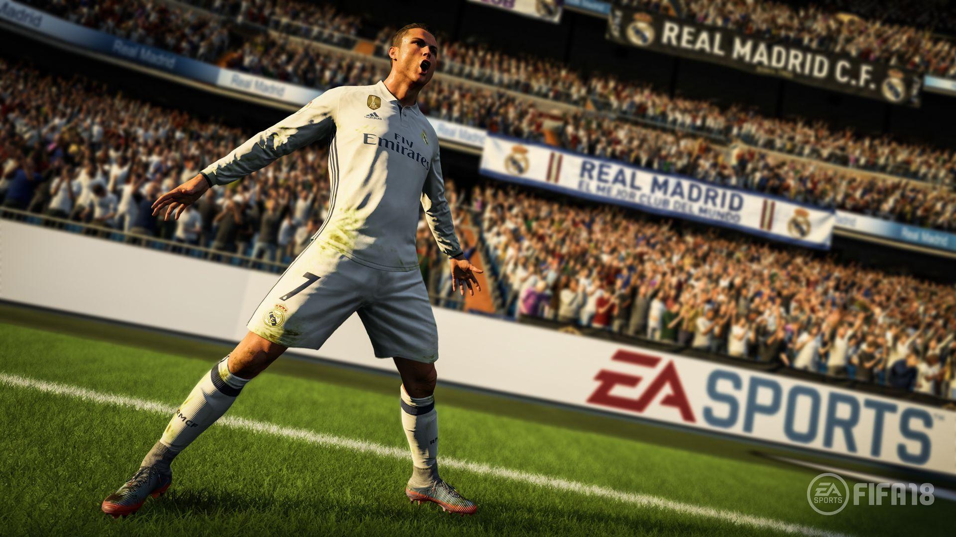 FIFA 18 (PS4) + подарък метална кутия - 5
