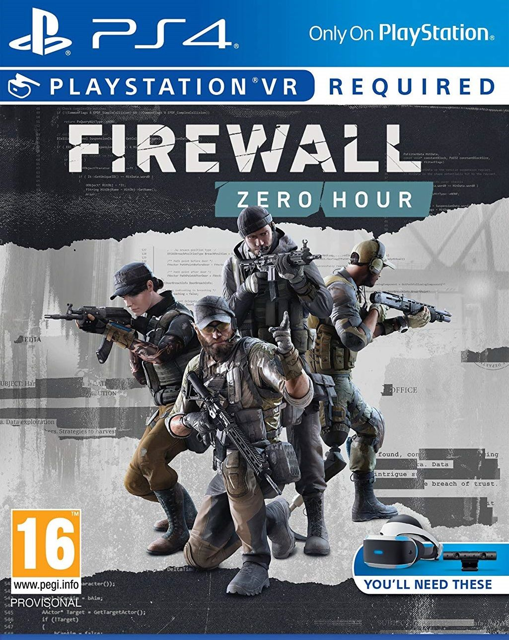 Firewall Zero Hour VR (PS4 VR) - 1