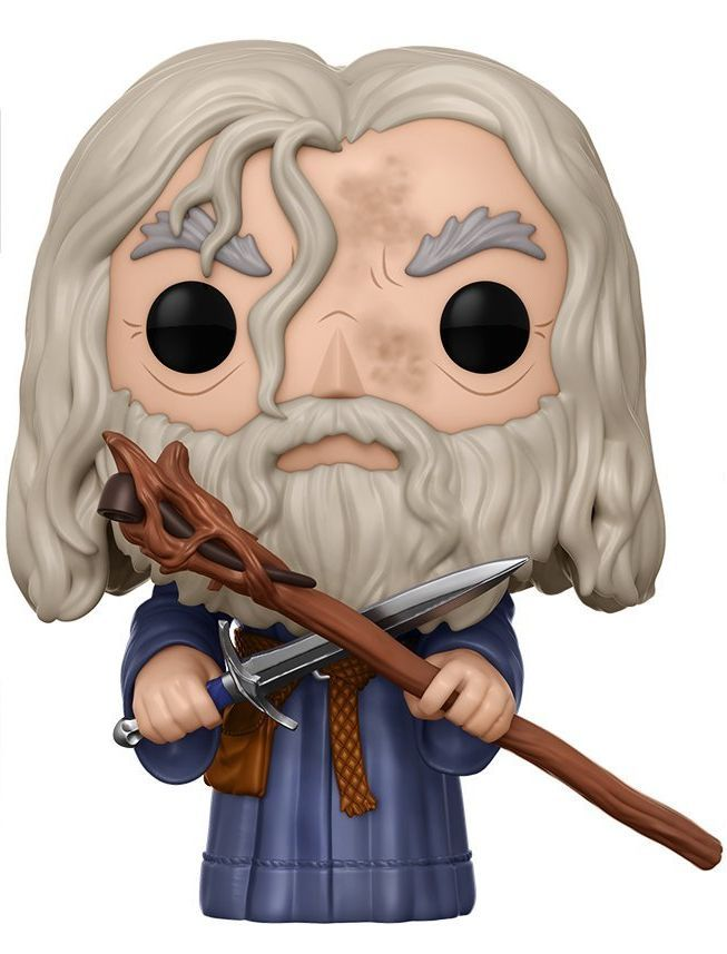 Фигура Funko Pop! Movies: The Lord of the Rings - Gandalf, #443 - 1