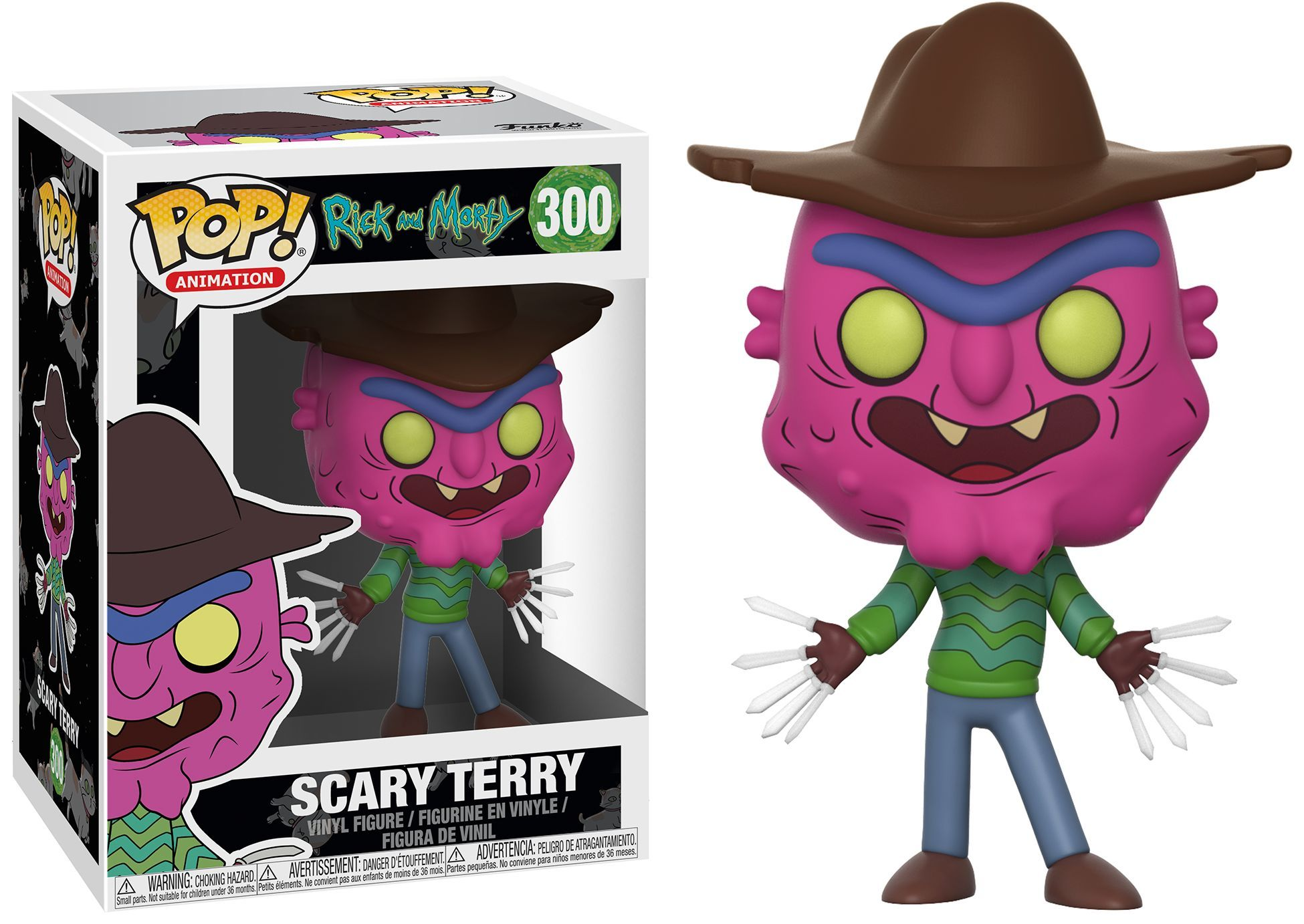 Фигура Funko Pop! Animation: Rick  Morty Series 3 - Scary Terry, #300 - 2
