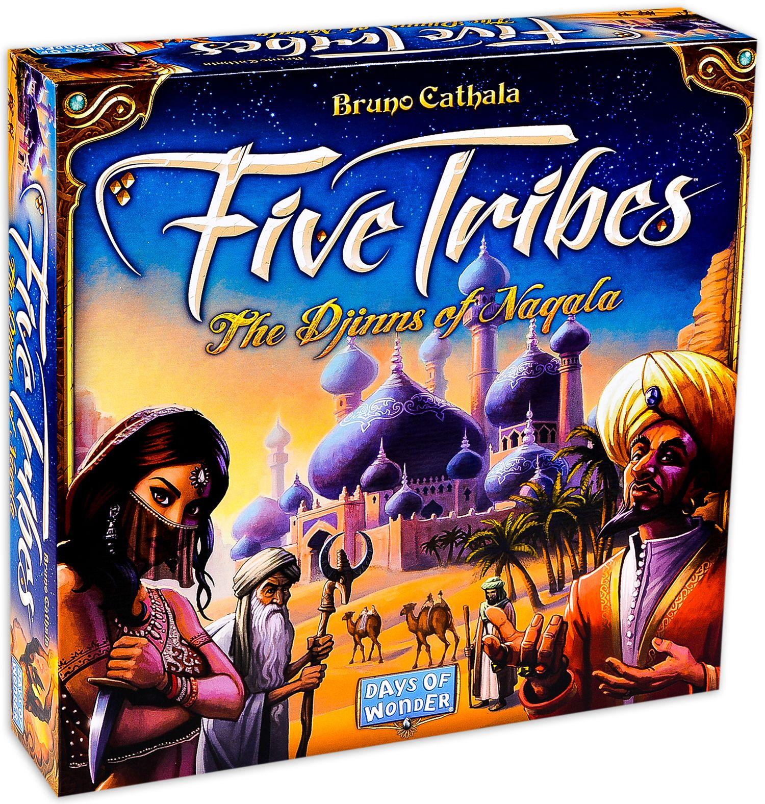 Настолна игра Five Tribes - 2