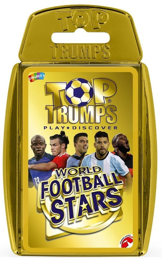 Игра с карти Top Trumps - World Football Stars 2018 - 1